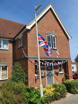 VE Day House Flag 75 Whitstable