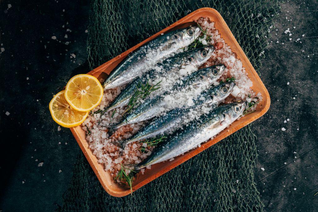 Sardines Salt Plate