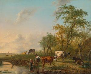 Milk Pastoral Painting
